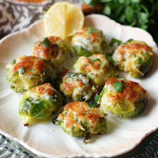 smashed brussels sprouts | one dish kitchen