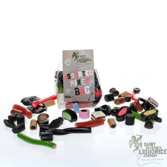 assorted mixed liquorice bag valentines-liquorice.uk