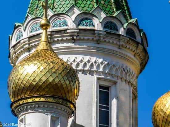 Cúpulas doradas de la Iglesia de San Nicolás