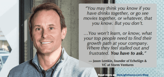 Build rapport like Jason Lemkin by making time to ask