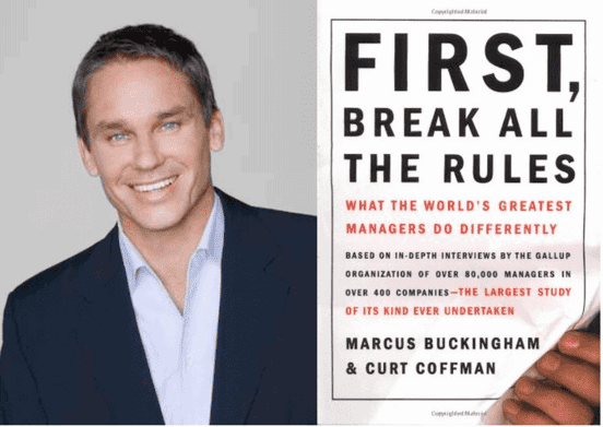 marcus buckingham first break all the rules gallup