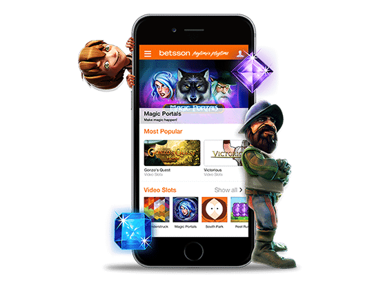 Mobile Gaming at Betsson Online