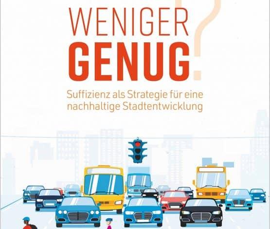 """""""Wie wird weniger genug"""" erscheint als Buch oder Open Access PDF im Oekom-Verlag"""