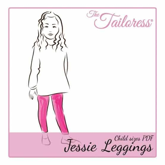 The Tailoress PDF Sewing Patterns - Jessie Leggings - Child - PDF Sewing Pattern