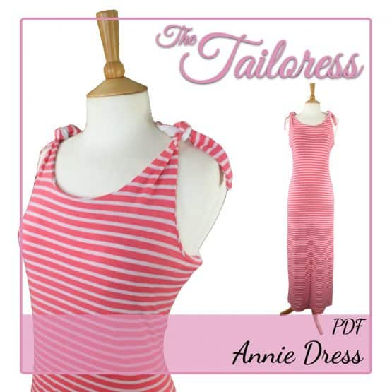 The Tailoress PDF Sewing Patterns - Annie Dress PDF Sewing Pattern