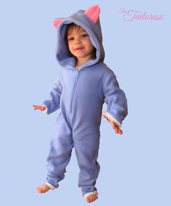 The Tailoress PDF Sewing Patterns - Children's KITTEN - Playsuit PDF Pattern
