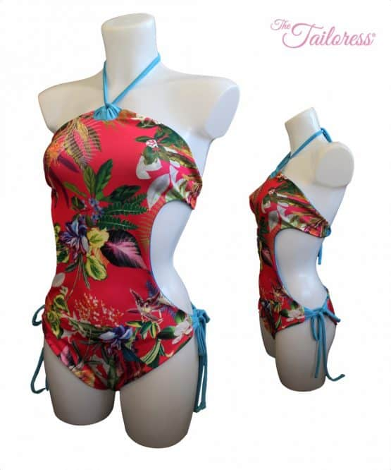 The Tailoress PDF Sewing Patterns - Monokini Swimsuit PDF Sewing Pattern