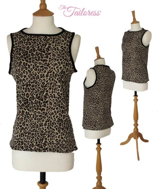 The Tailoress PDF Sewing Patterns - Ellie Easy-Fit Tank & Crop Top PDF Sewing Pattern
