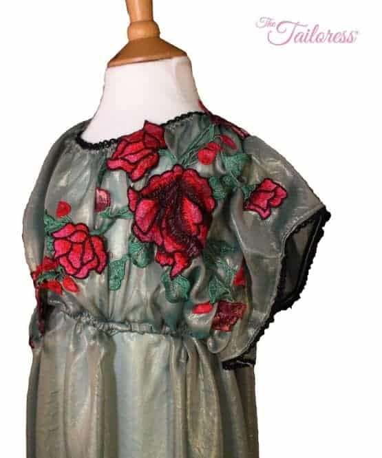 The Tailoress PDF Sewing Patterns - Hermia Regency Dress / Costume PDF Sewing Pattern