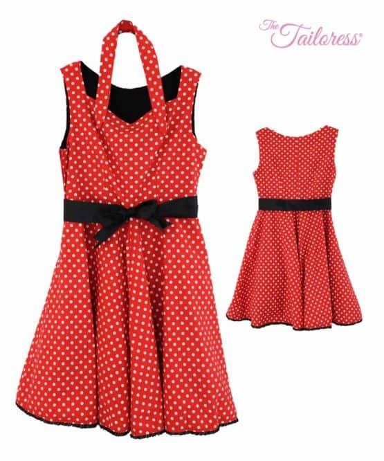 The Tailoress PDF Sewing Patterns - Louise Dress PDF Sewing Pattern (50's Style)