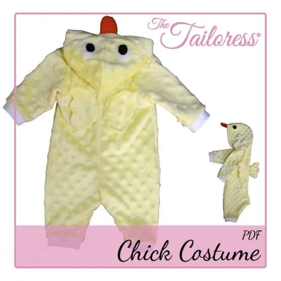 The Tailoress PDF Sewing Patterns - Children's CHICK - Playsuit Costume Pyjama PDF Pattern