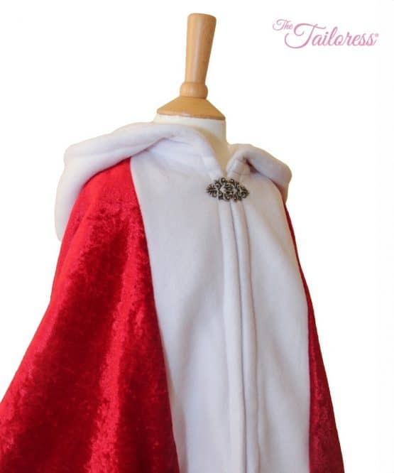The Tailoress PDF Sewing Patterns - Father Christmas Santa Cape PDF Sewing Pattern