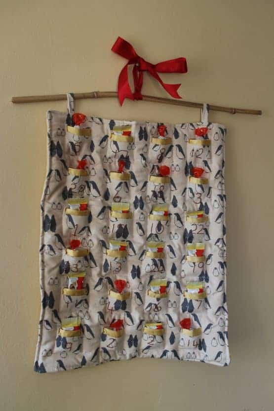 The Tailoress PDF Sewing Patterns - Quilted Advent Calendar PDF Sewing Pattern