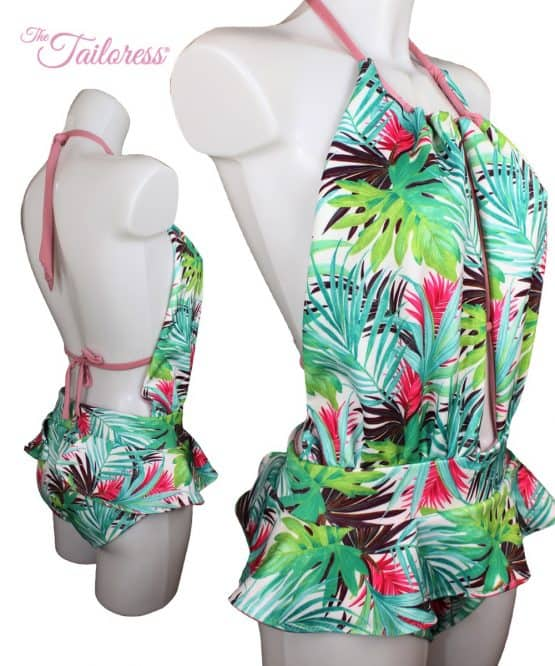 The Tailoress PDF Sewing Patterns - Bárbara Monokini PDF Sewing Pattern