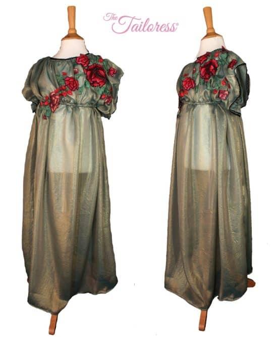 The Tailoress PDF Sewing Patterns - Hermia Regency Dress / Costume PDF Sewing Pattern