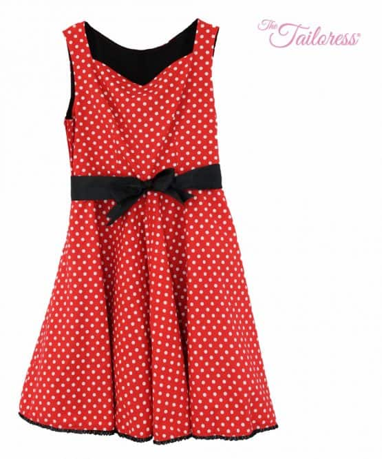 The Tailoress PDF Sewing Patterns - Louise Dress PDF Sewing Pattern (50's Style)