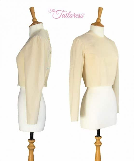 The Tailoress PDF Sewing Patterns - Close Fitting Bodice Block (non-stretch)