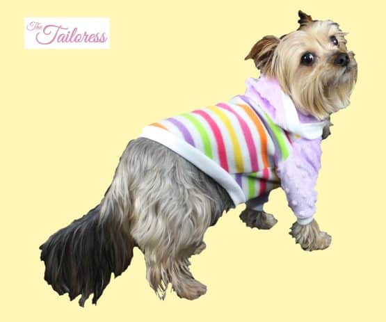 The Tailoress PDF Sewing Patterns - Toby Jersey Raglan Sleeve Jumper for Dogs PDF Sewing Pattern