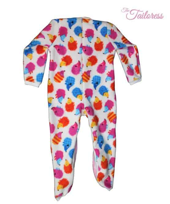 The Tailoress PDF Sewing Patterns - Molly Adaptive Clothing Romper Sleep Suit for Children PDF Sewing Pattern