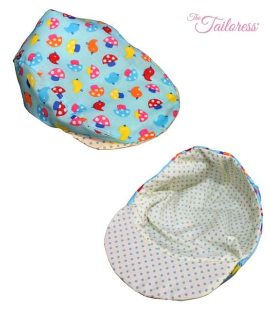8a49cfd7c1 The Tailoress PDF Sewing Patterns - George Flat Cap PDF Sewing Pattern