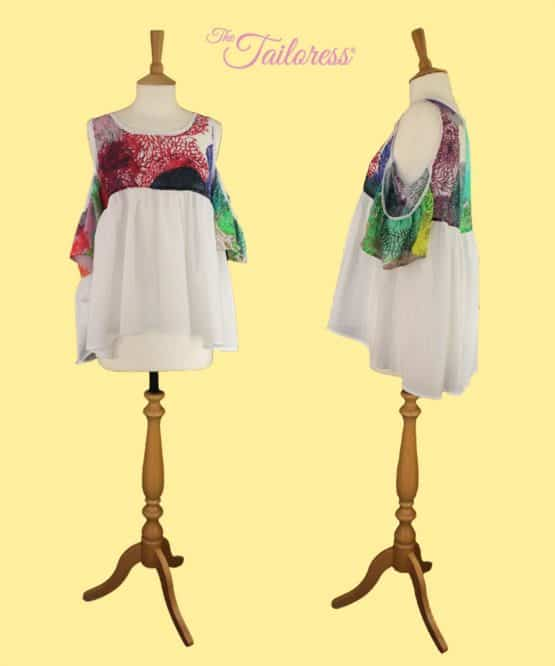 The Tailoress PDF Sewing Patterns - Rosana Top PDF Sewing Pattern