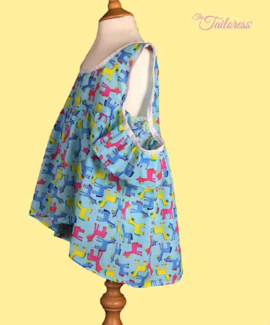 The Tailoress PDF Sewing Patterns - Rosana Top for Children PDF Sewing Pattern