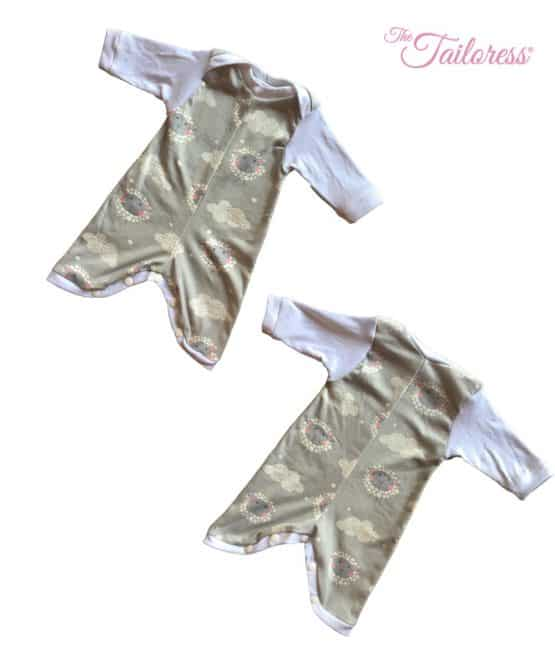 The Tailoress PDF Sewing Patterns - Lyra Romper Pyjama PDF Sewing Pattern
