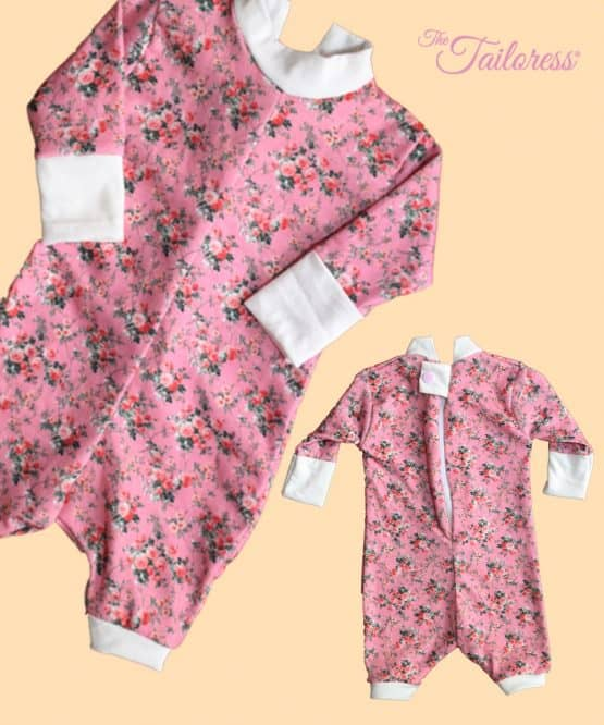 The Tailoress PDF Sewing Patterns - Kendall Inescapable Bodysuit Romper PDF Sewing Pattern