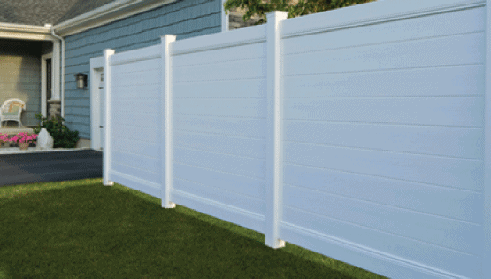 Vinyl is a great material for a fence. It's strong and durable and can withstand various weather changes. Something great about vinyl is that is requires very low maintenance. Vinyl fences come in many different colors and styles as well.
