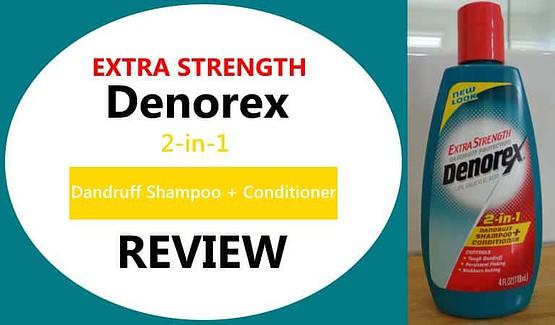 extra strength denorex dandruff shampoo review
