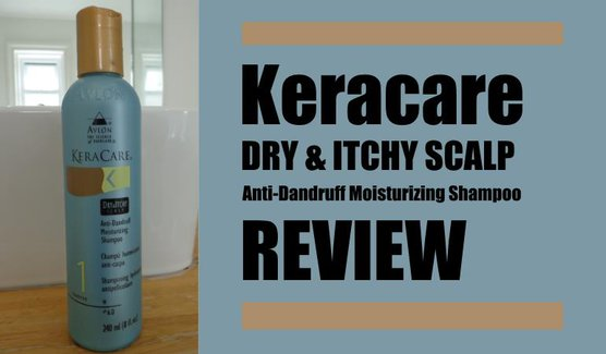 keracare dry and itchy scalp anti dandruff moisturzing shampoo review