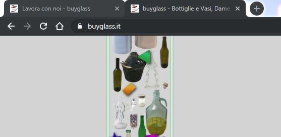 Sito Web Buyglass