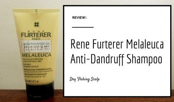 Rene Furterer Melaleuca Anti-Dandruff Shampoo Dry Flaking Scalp