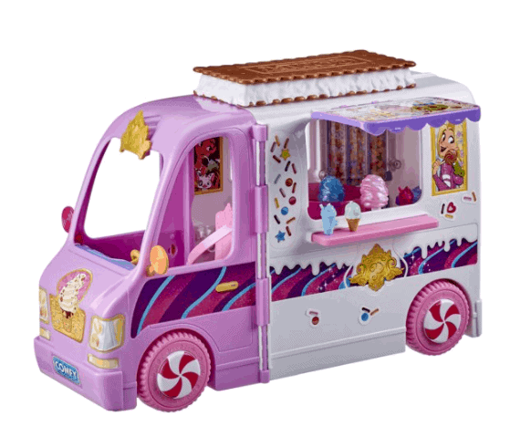 Pint truck playset for international shipping