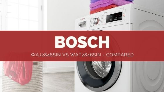Bosch WAJ2846sin vs WAT2846sin - Review & Comparison