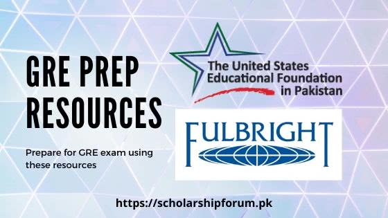 GRE resources for Fulbright Scholarship