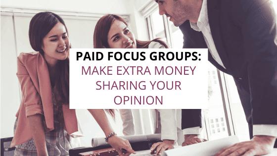 paid focus groups