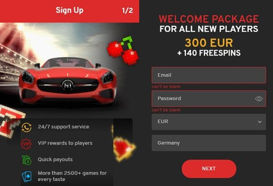 Register at N1 and get free spins!