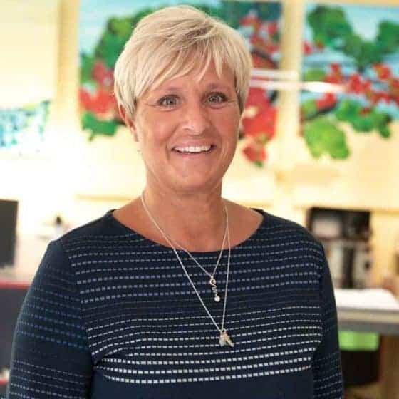 Mitarbeiterin Katrin Hauschild, Augenoptikermeisterin und seit 2015 Teil des Teams