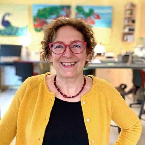Mitarbeiterin Sabine Jänicke, Augenoptikermeisterin mit Weiterbildung für Low Vision