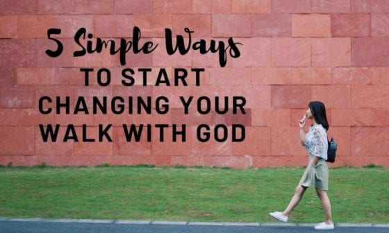 5 simple ways to change rel with god