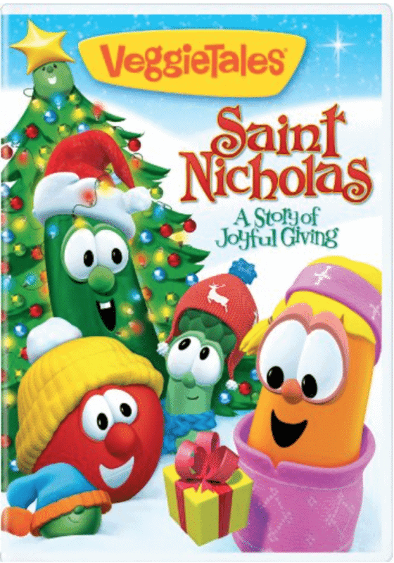 Saint Nicholas - the world's best giver, a story of joyful giving by Veggie Tales -- celebrating Saint Nicholas Day with kids.
