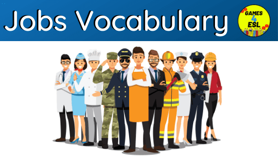 Jobs Vocabulary List | Jobs and Occupations Names With Pictures