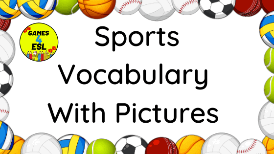 List Of Sports: Names of Sports In English With Pictures