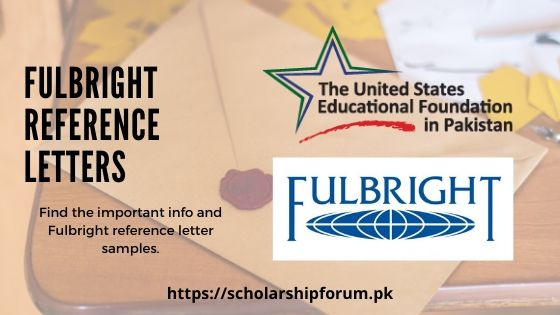 Fulbright Reference Letters