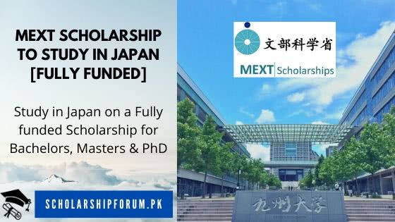 MEXT Scholarship for Japan
