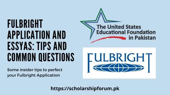 Fulbright Application Tips; SoP, and Essay Guidance