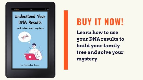 advertisement for the understand dna results and solve your mystery e-book