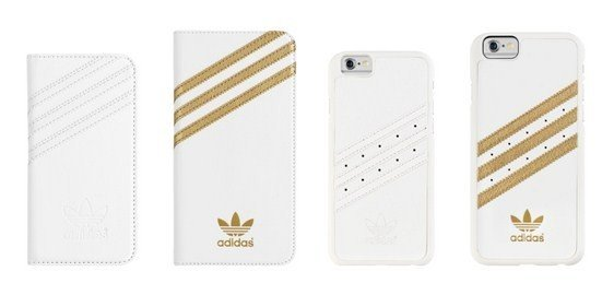 adidas Originals introduces white and gold cases for the iPhone 5 and iPhone 5s