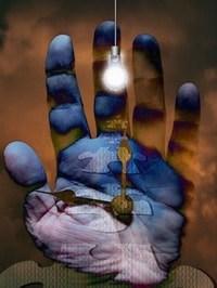"""Nos pensées à forte charge émotionnelle laisseraient des """"empreintes"""" énergétique que nous pouvons percevoir dans un état particulier de la conscience."""
